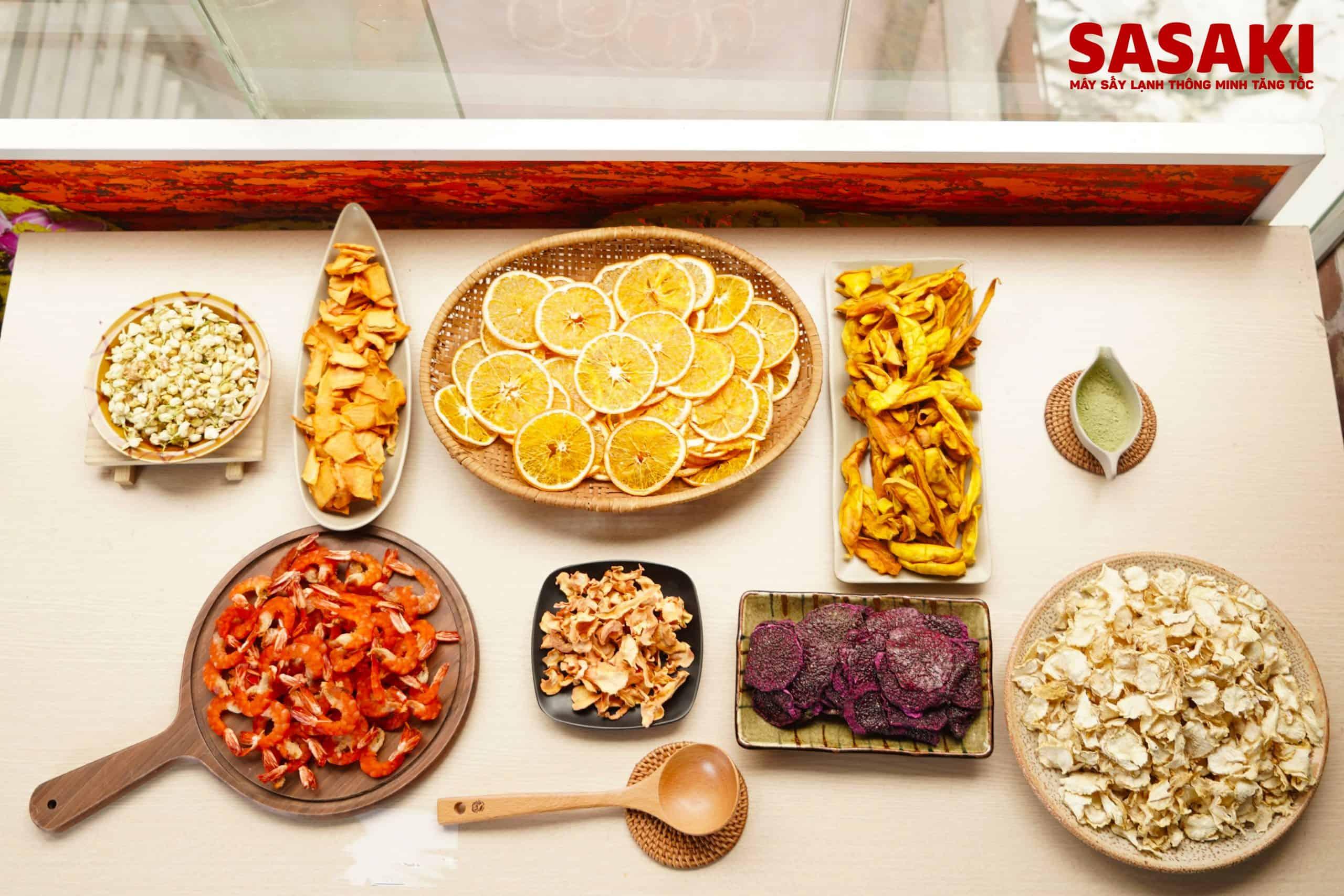 Những lưu ý khi sấy hoa quả bằng máy sấy công nghiệp - Máy sấy lạnh SASAKI