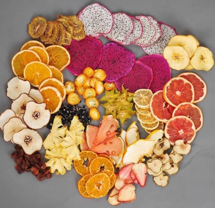 Máy sấy lạnh hoa quả Detox
