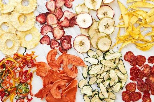 Phương pháp sấy khô rau quả