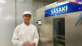 Máy sấy lạnh rau má   Tìm hiểu cách sấy lạnh rau má bằng công nghệ Sasaki Nhật Bản